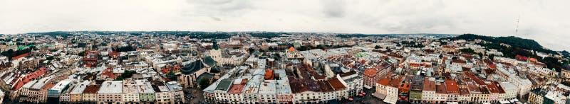 Fotografie miasto od above fotografia stock