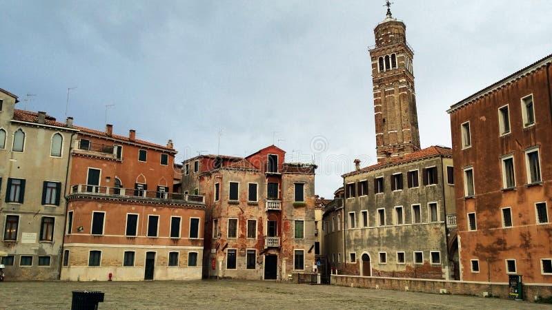Fotografie spacer w Wenecja obrazy royalty free
