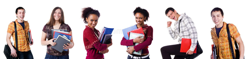 fotografie ustawiający uczeń obrazy stock