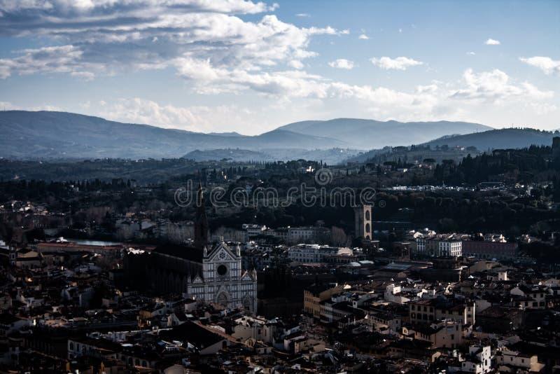 Fotografie von Florenz, Italien lizenzfreies stockbild