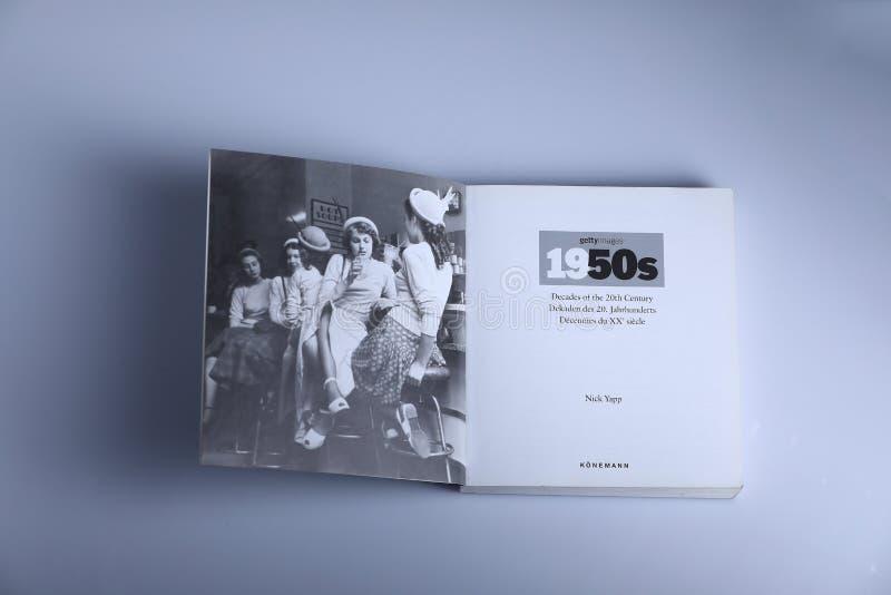 Fotografiebuch durch Nick Yapp lizenzfreie stockfotografie