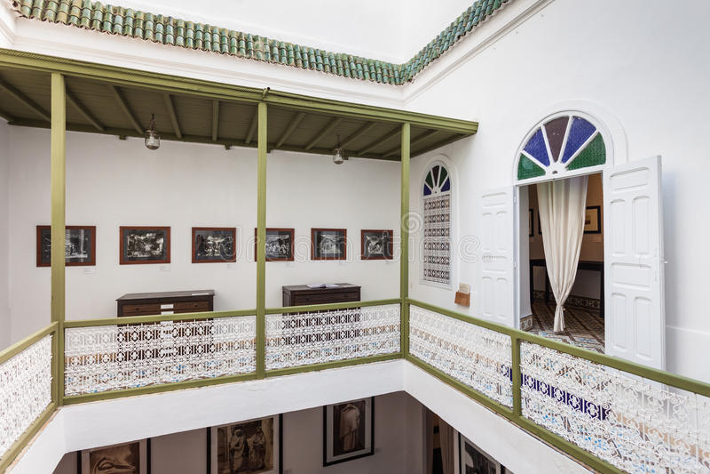 Fotografiemuseum, Marrakech royalty-vrije stock foto