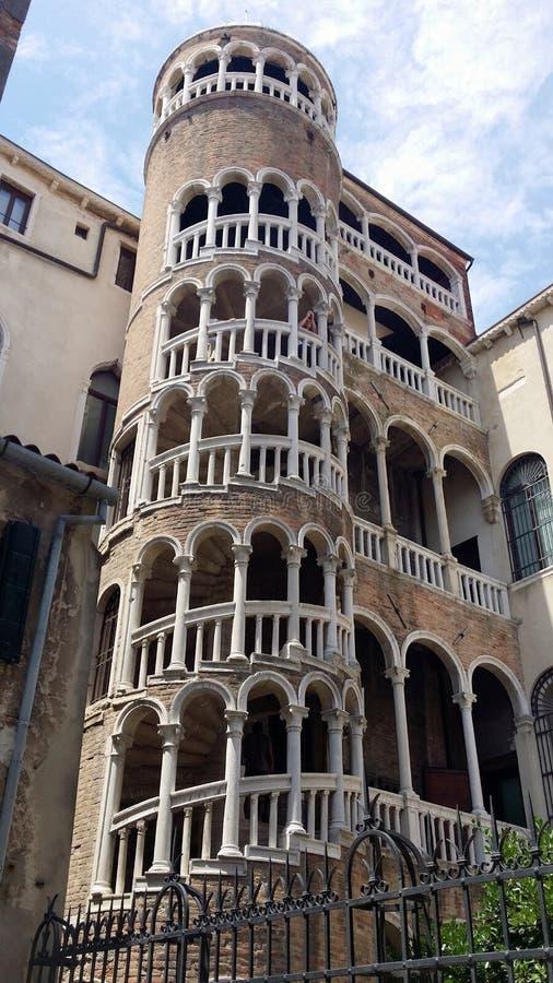 Fotografier av går i Venedig royaltyfri foto