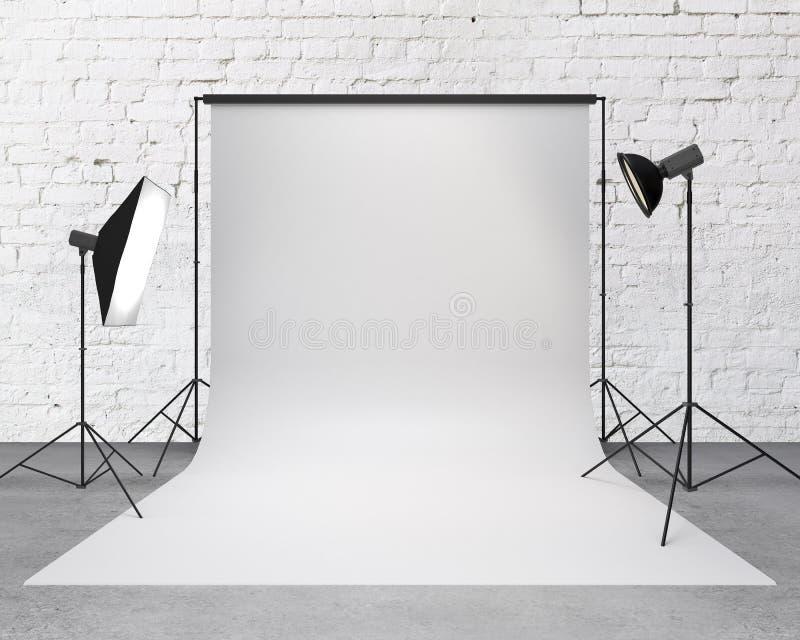 Fotografiestudio lizenzfreie stockfotografie
