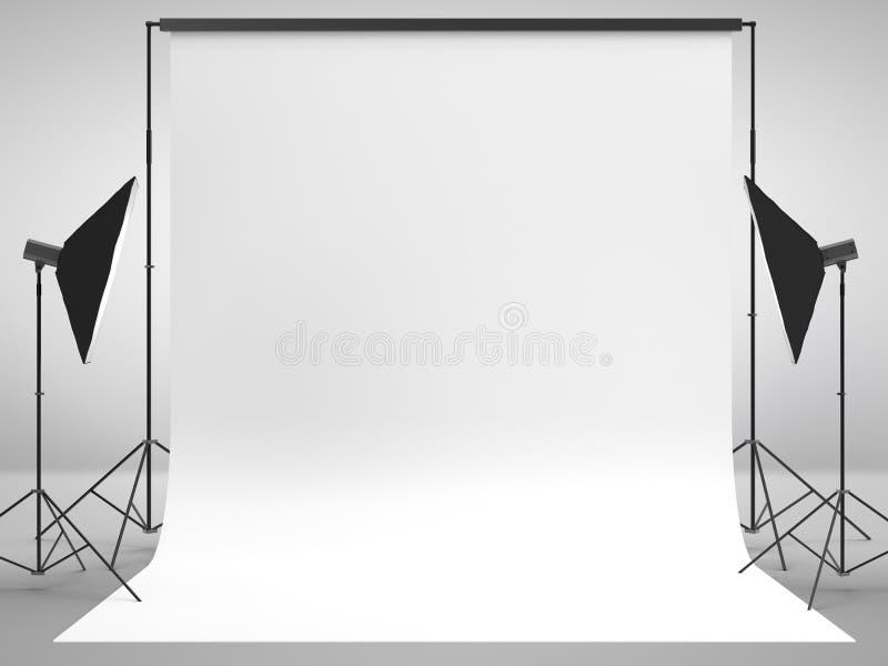 Fotografiestudio vektor abbildung