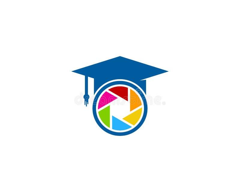 Fotografii edukaci ikony loga projekta element ilustracji