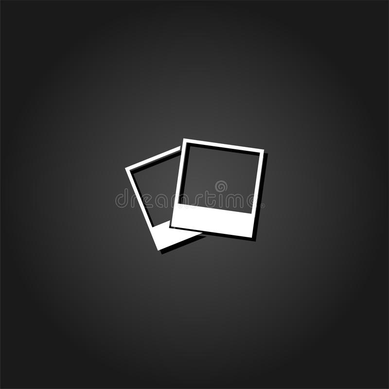 Fotografii ikony mieszkanie ilustracji