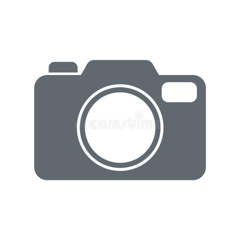 Fotografii kamery ikona zdjęcie stock