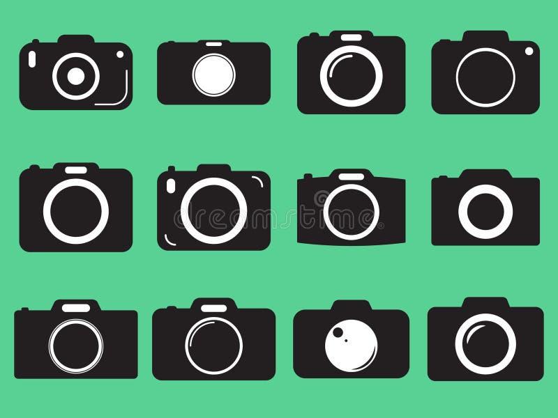 fotografii kamery wektoru ikona royalty ilustracja