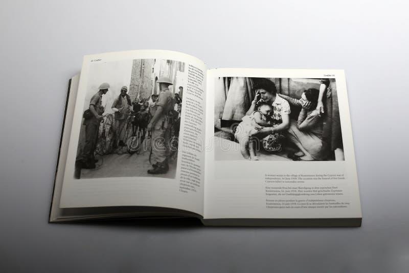Fotografii książka Nick Yapp, cypryjczyk był w 1958 zdjęcia royalty free