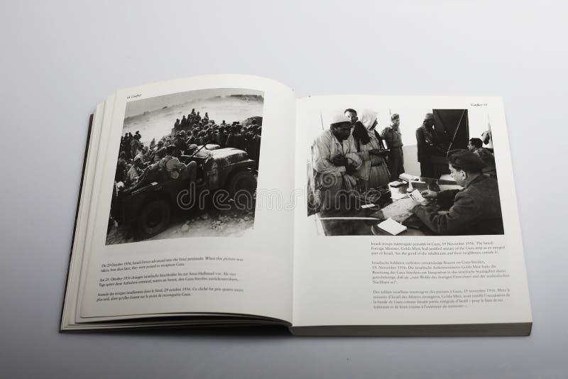 Fotografii książka Nick Yapp, izraelita był strefą zdjęcia stock