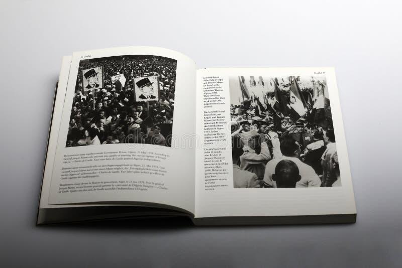 Fotografii książka Nick Yapp, Raoul Salan obrazy stock