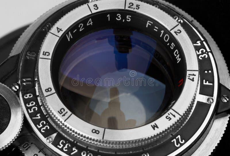 Fotografii Obiektywny Wintage Obraz Royalty Free