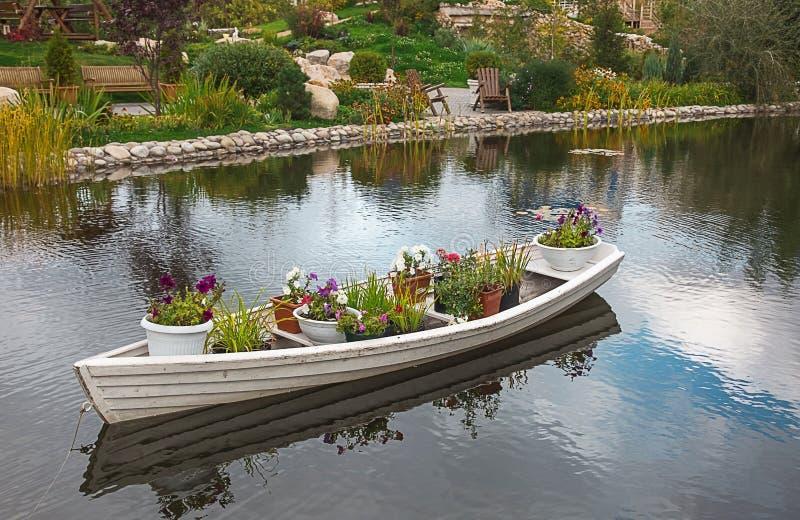 Fotografii parkowa łódź publicznie fotografia stock