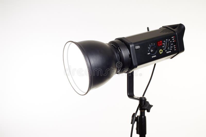 Fotografii pracowniany oświetleniowy wyposażenie fotografia royalty free
