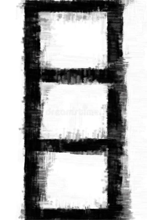 fotografii ramowy ilustracyjny nakreślenie ilustracja wektor