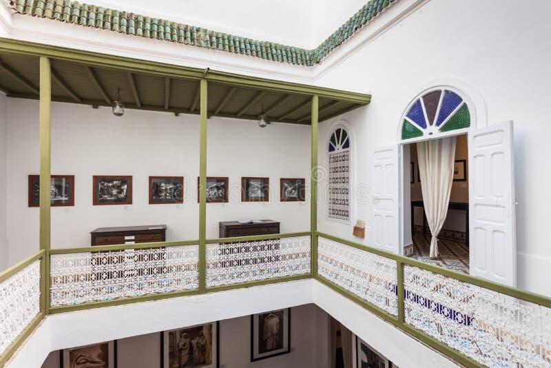 Fotografimuseum, Marrakesh royaltyfri foto