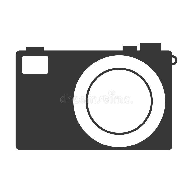 Fotografisch camerapictogram vector illustratie