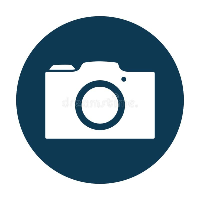 Fotografisch camerasymbool vector illustratie