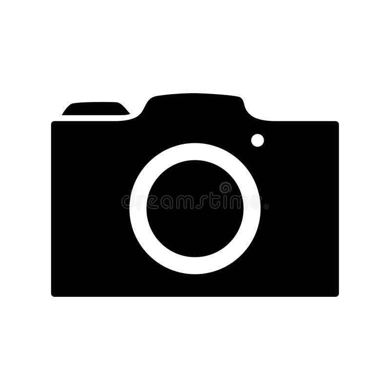 Fotografisch camerasymbool stock illustratie