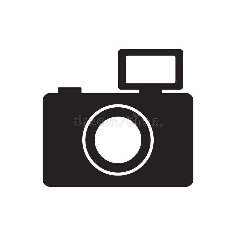 fotografisch de flitspictogram van het camerabeeld vector illustratie