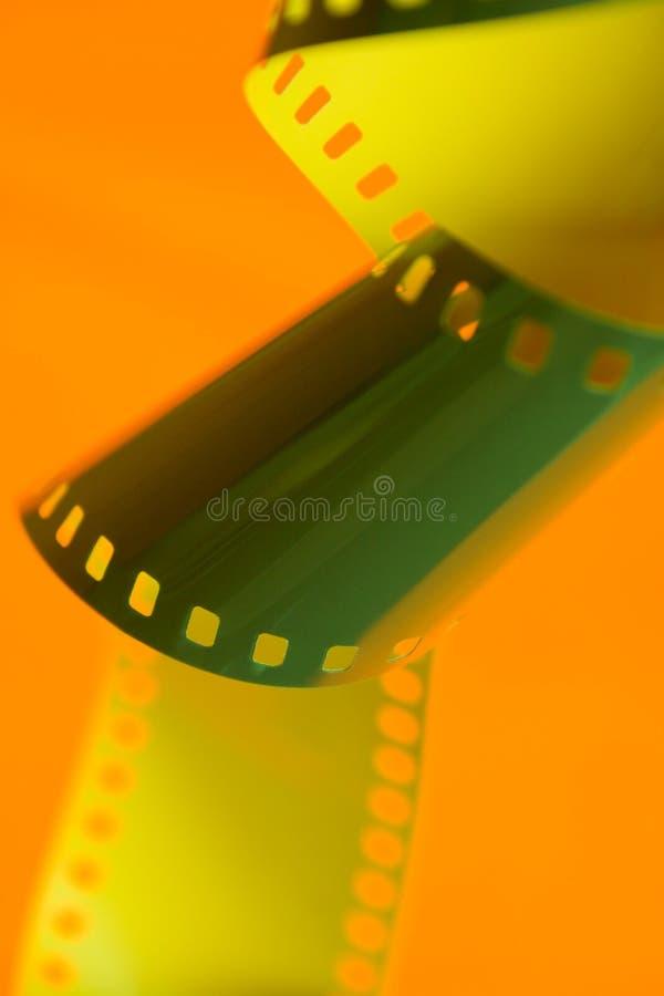 Fotografische film royalty-vrije stock afbeelding