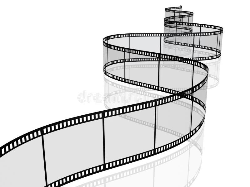 Fotografische filmspoel royalty-vrije illustratie