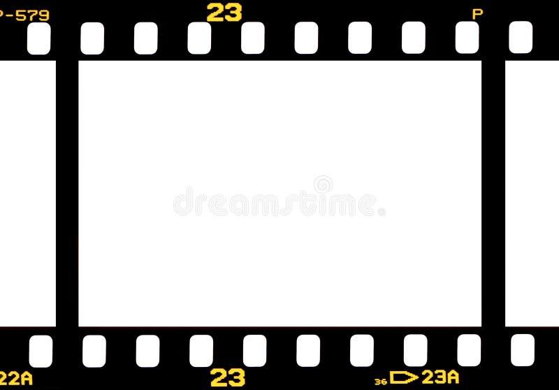Fotografische 35 mm-filmstrook stock illustratie