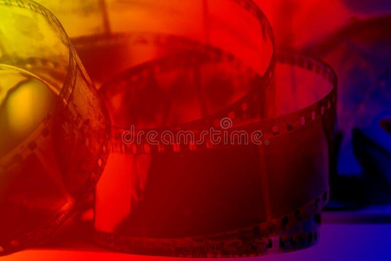Fotografische negatieve film stock afbeelding