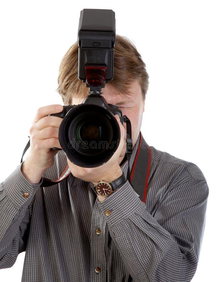 Download Fotografo immagine stock. Immagine di concentrazione, immagine - 3140245