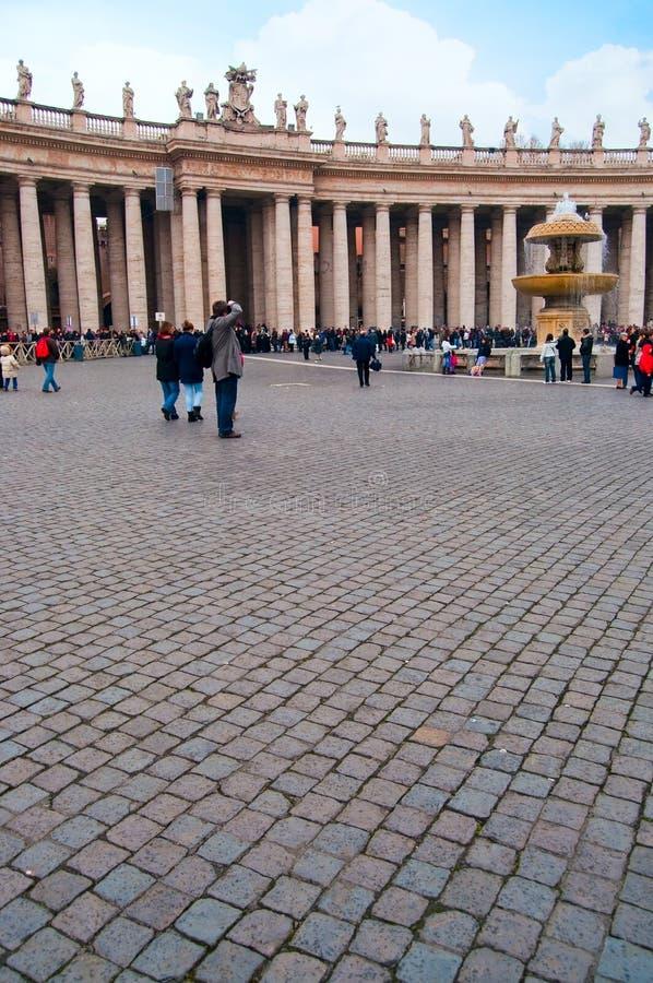 Fotografo a Città del Vaticano immagini stock