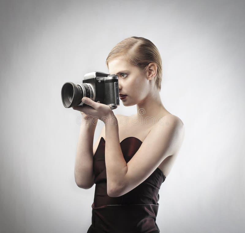 Fotografo di modo immagini stock libere da diritti