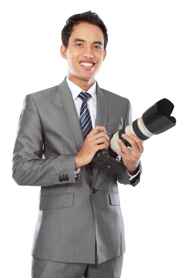 Fotografo professionista fotografie stock