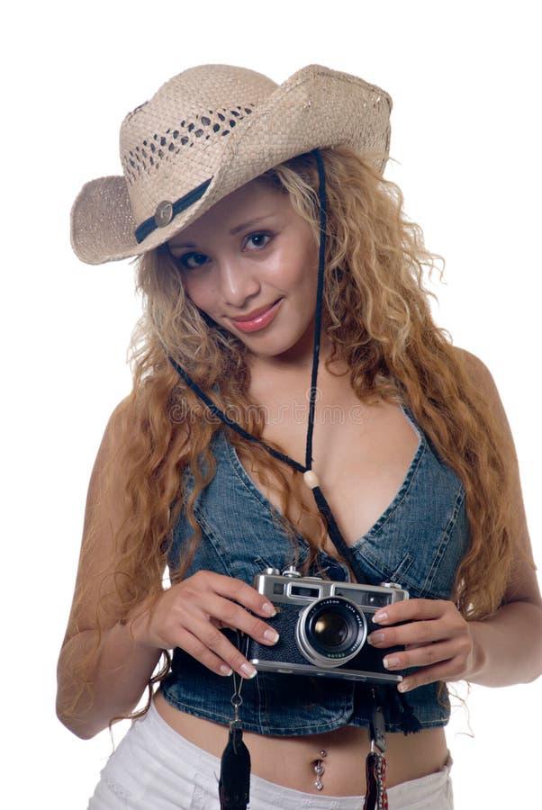 Fotografo sexy fotografia stock libera da diritti