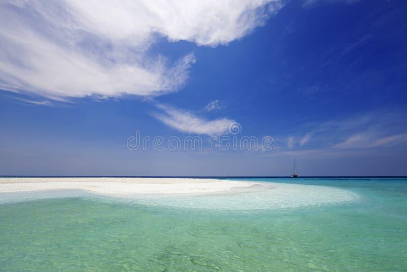 Fotografować wyspy od trutnia zdjęcie royalty free
