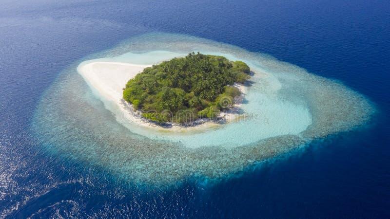 Fotografować wyspy od trutnia zdjęcia royalty free