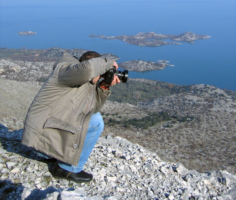 fotografskytte arkivbilder