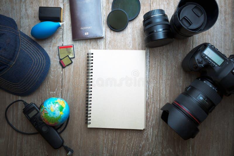 Fotograftillbehör arkivbild