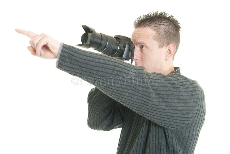 Fotografzeigen lizenzfreie stockfotografie