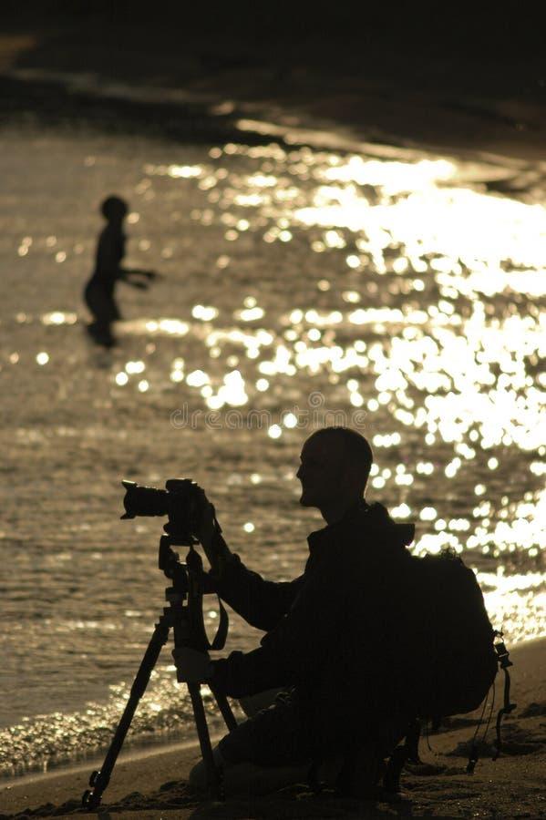 Fotographien-Schattenbild stockfotografie