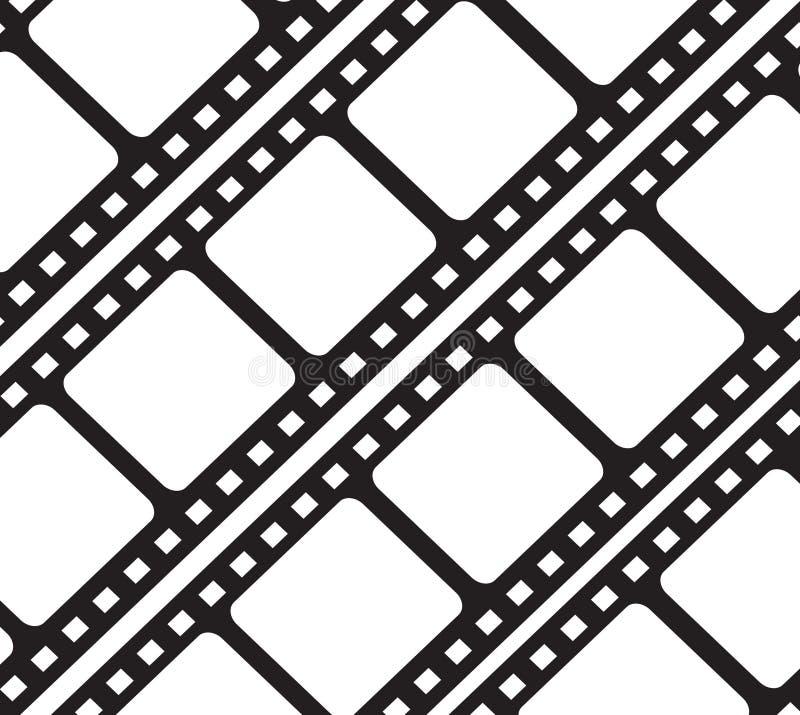 Fotographienfilmhintergrund stock abbildung