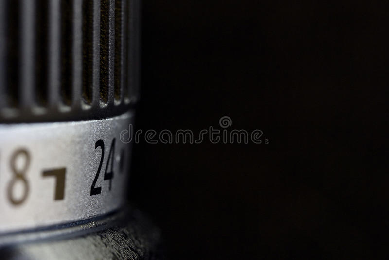 Fotographienobjektiv stockfotos