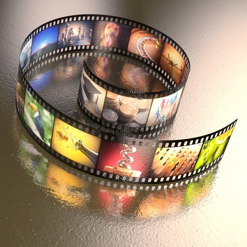 Fotographischer Film stockfotografie