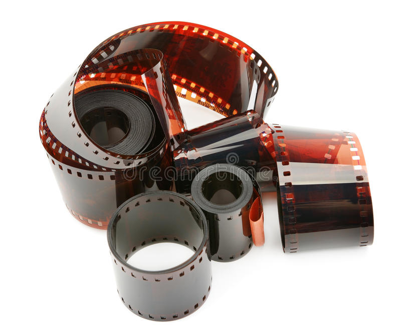 Fotographischer Film stockfoto