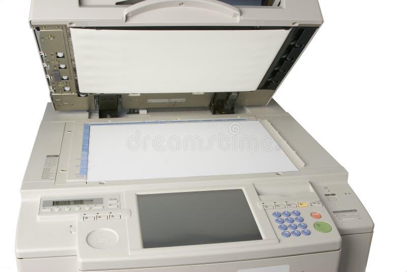 Fotokopieerapparaat stock afbeelding