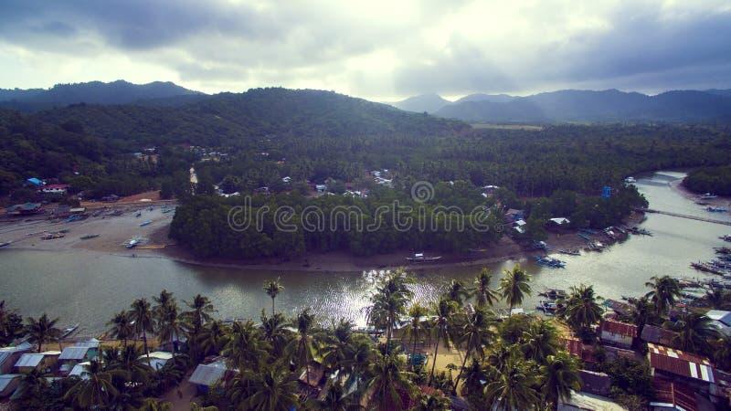 Fotolandschaft des Philippine lizenzfreie stockfotografie