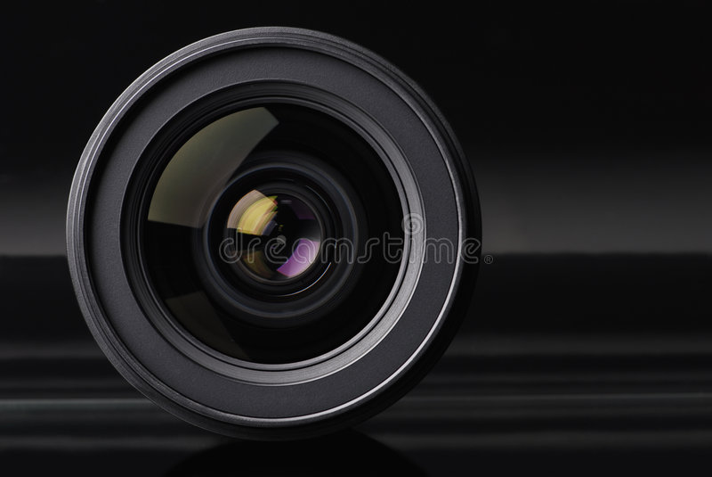 Fotoobjektiv lizenzfreies stockfoto