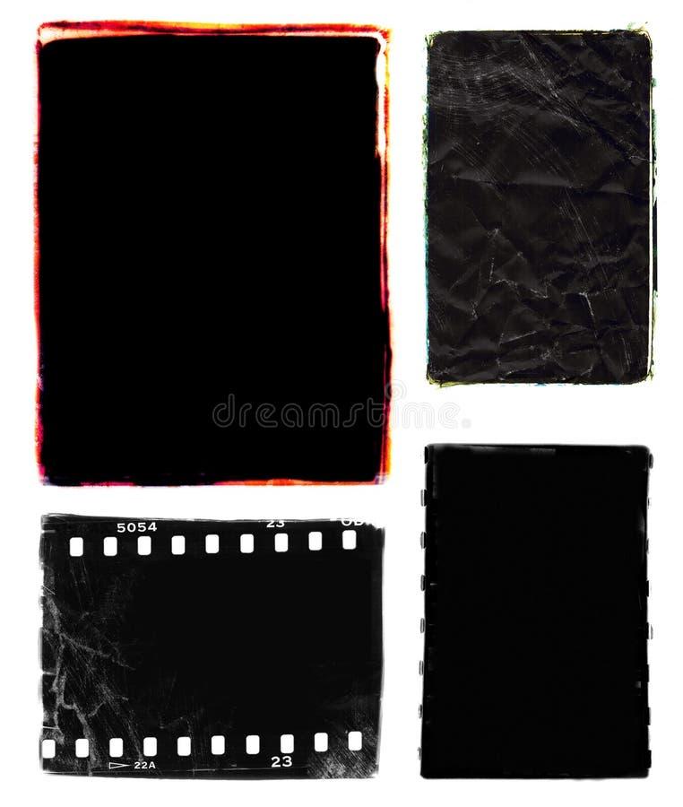 Fotoränder und -felder lizenzfreie stockbilder