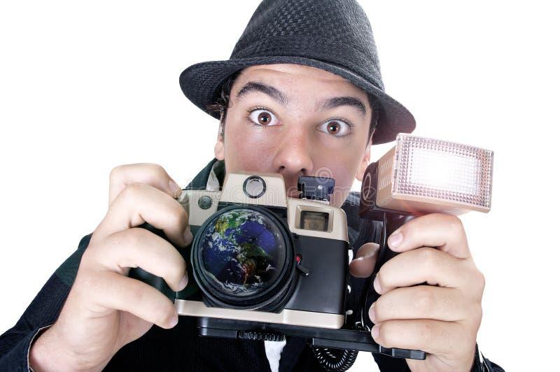 fotoreporter obrazy royalty free