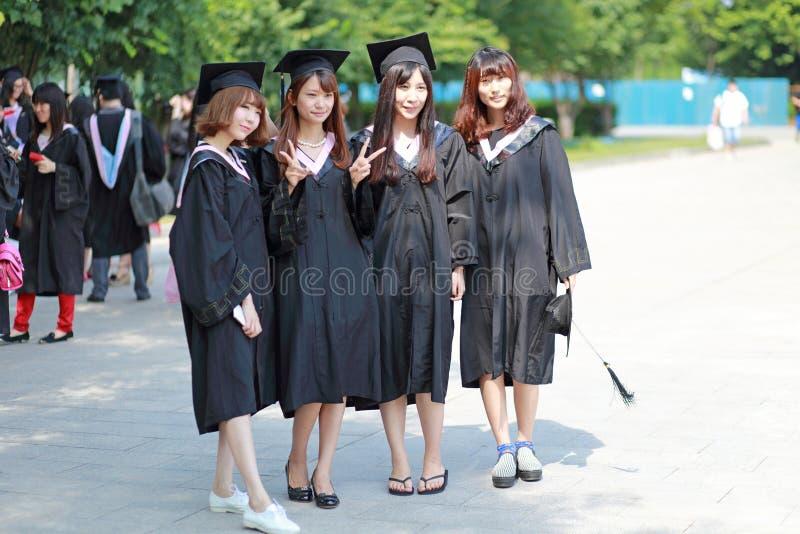 Fotos da graduação imagens de stock